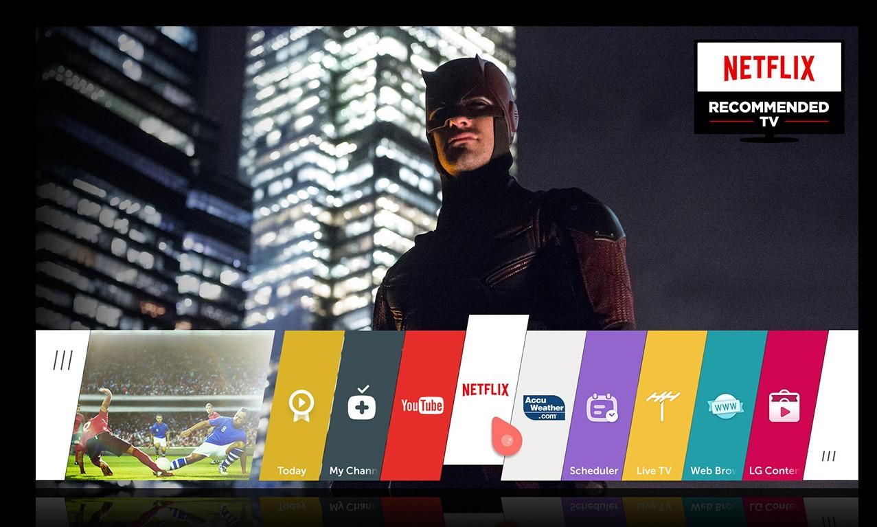 Expansiunea globala Netflix – sustinuta de LG