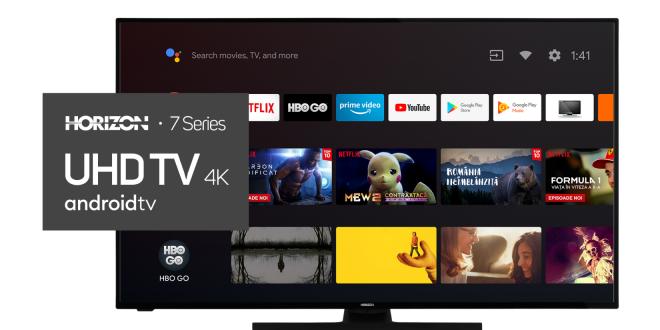 HORIZON lansează Gama 2020 de Televizoare cu Android TV 9.0